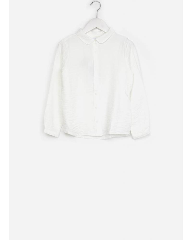 By Bar girls solo blouse off white