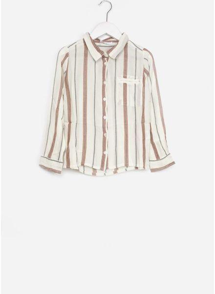 By Bar blouse paris striped off white