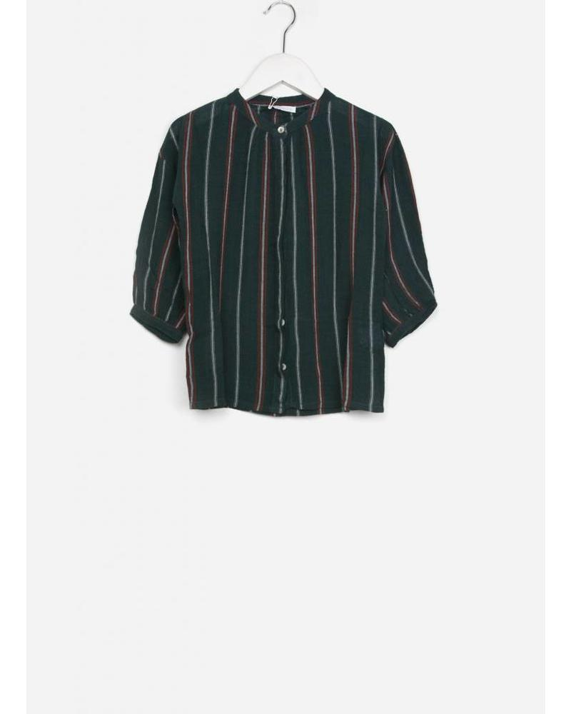 By Bar girls cecile crepe striped blouse