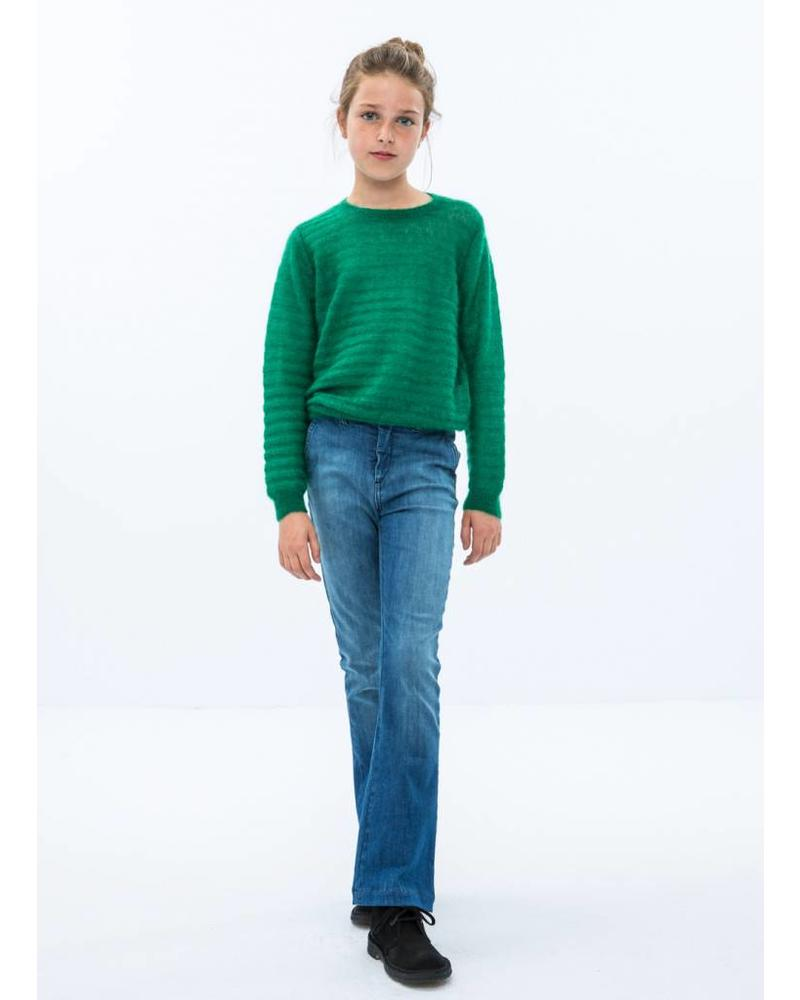 By Bar girls gwen pullover peacock green