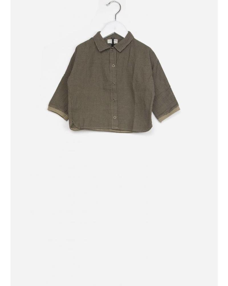1+ In The Family agatha blouse ochre