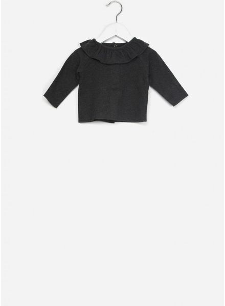 1+ In The Family clementina blouse antracite