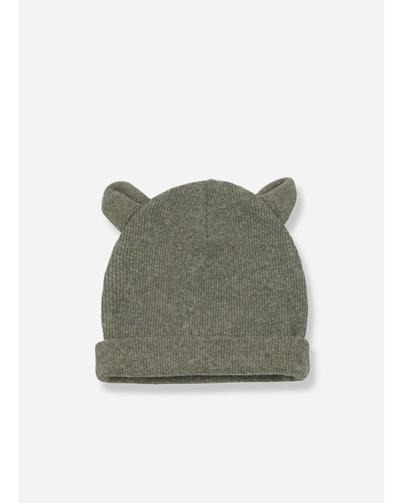 1+ In The Family abel bonnet ears khaki
