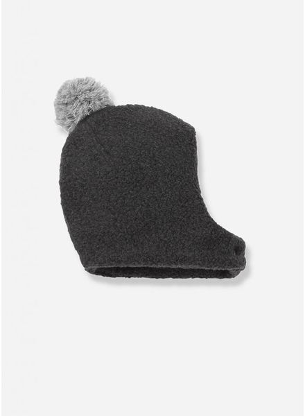 1+ In The Family linus bonnet en mittens anthracite