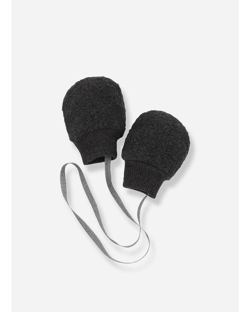 1+ In The Family linus bonnet en mittens anthracite