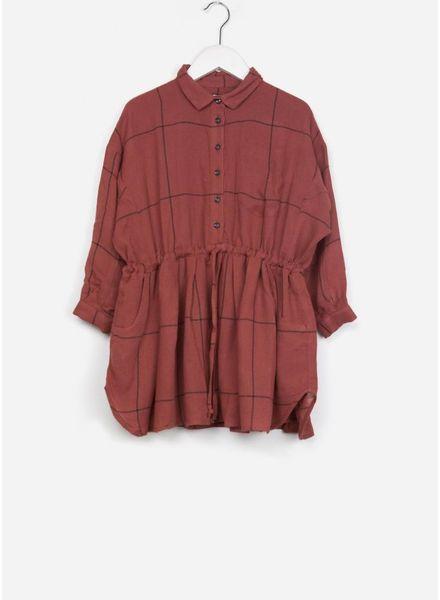 Morley jurk izumi memphis red