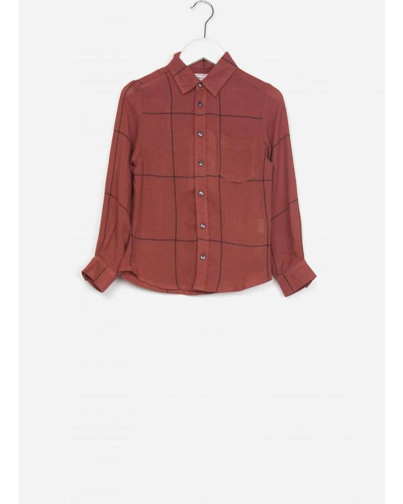 Morley benjamin memphis red boysshirt