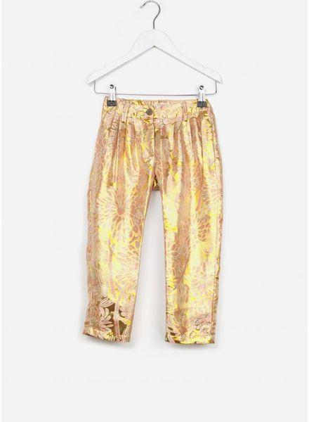Morley broek georgette shine gold