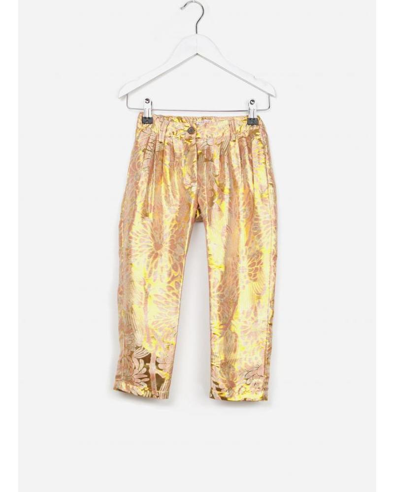 Morley georgette shine gold girlspant