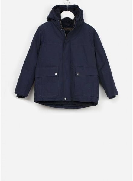 Finger in the nose jas nordfolk night blue parka