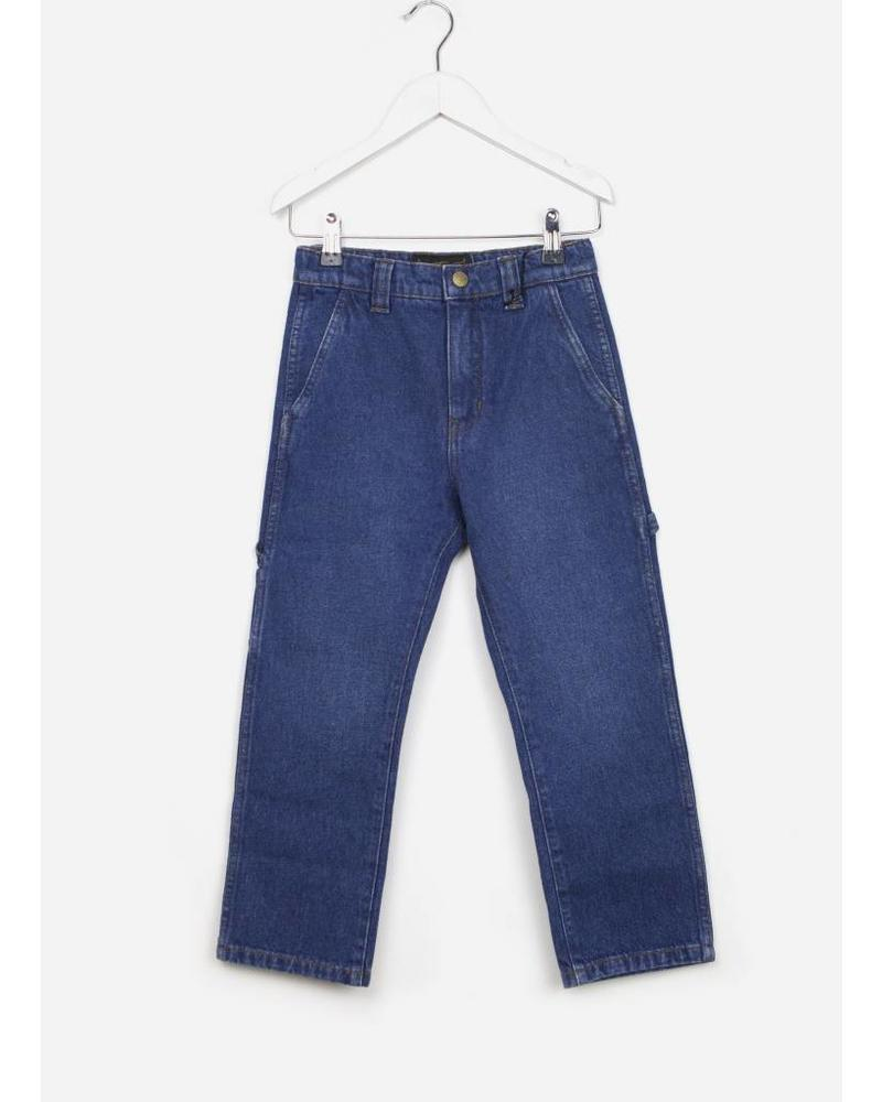 Finger in the nose eighties blue woven baggy pant