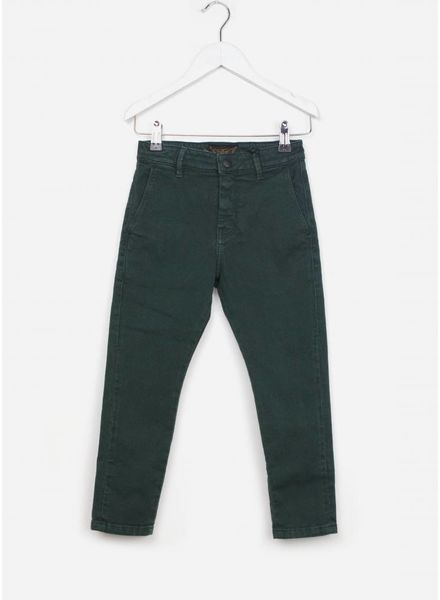 Finger in the nose broek new scotty college green chino