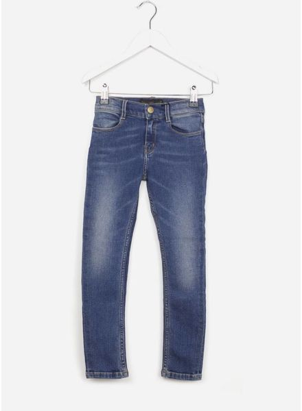 Finger in the nose broek tama dirty blue skinny jeans