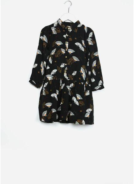 Soft Gallery jurk ines jet black