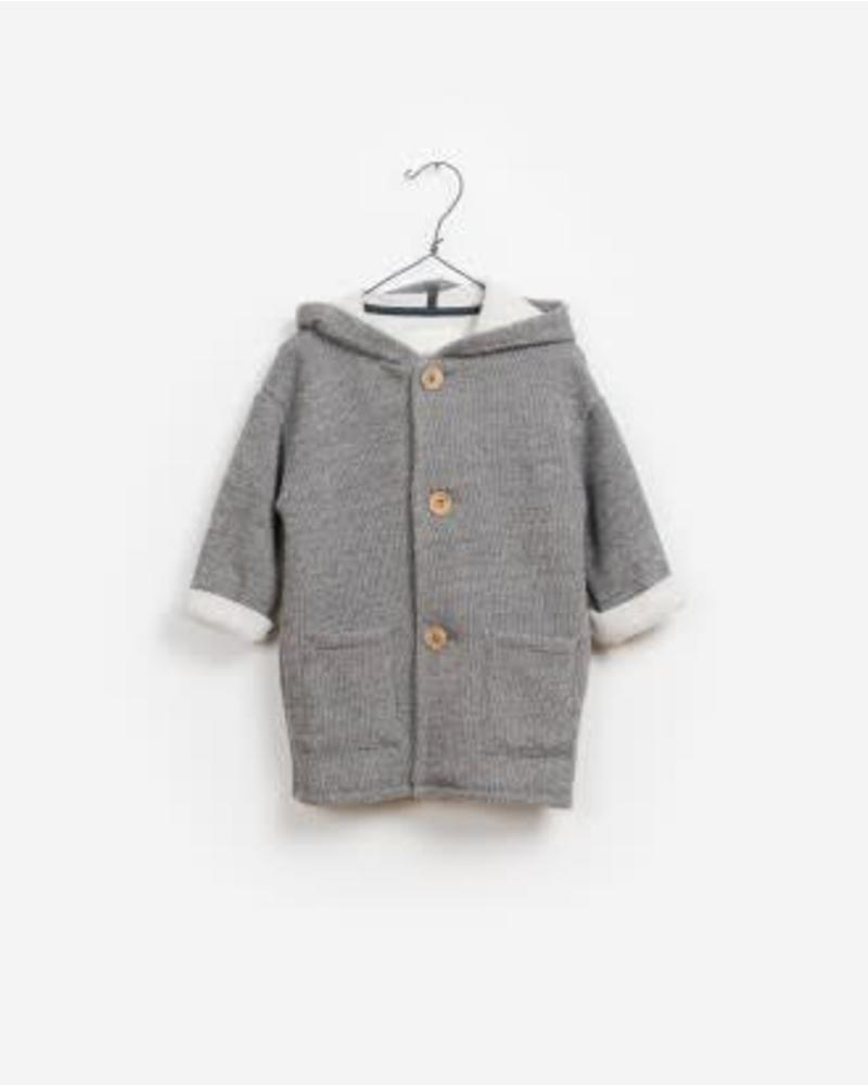 Play Up fleece jacket stone