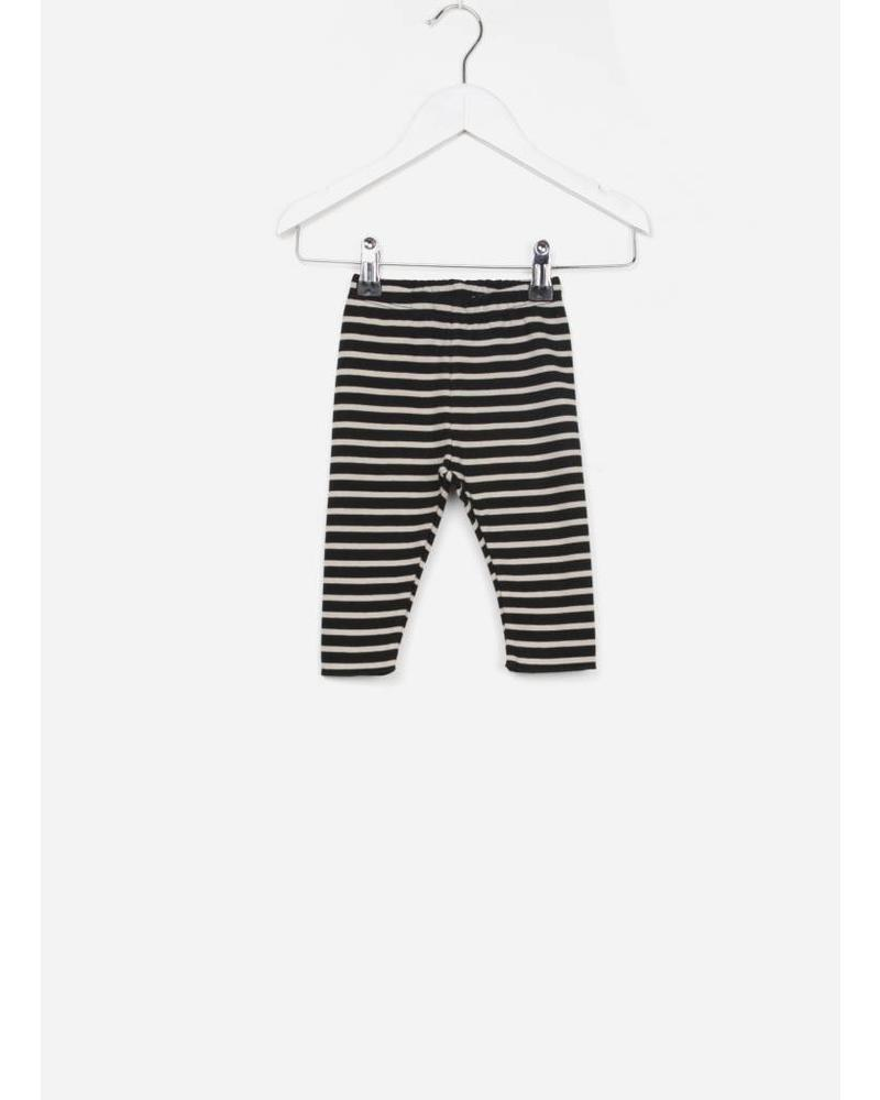 Play Up striped ponto roma legging