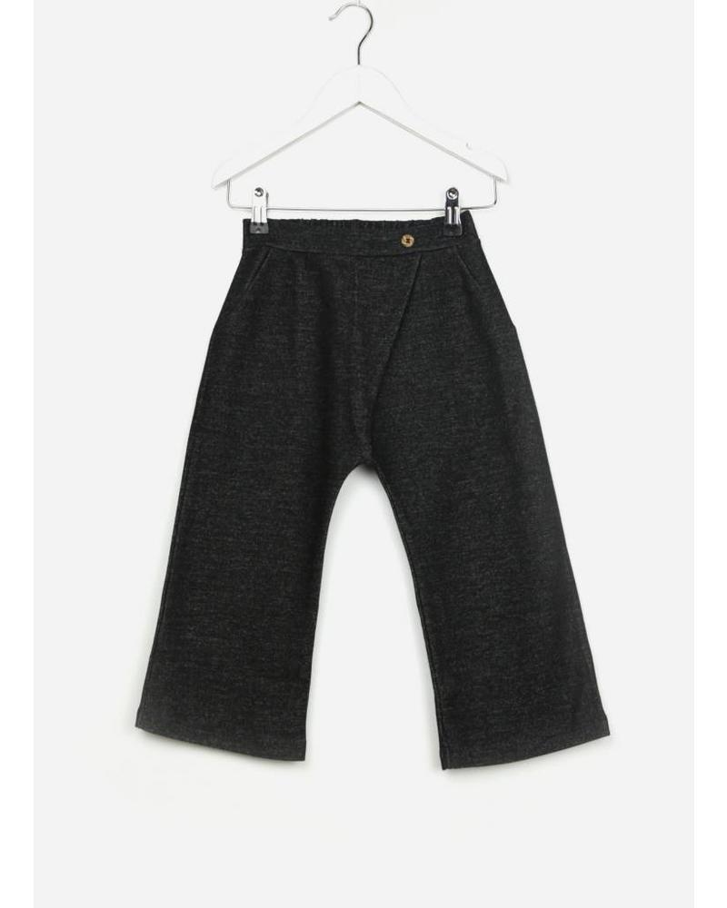 Play Up double face trousers black