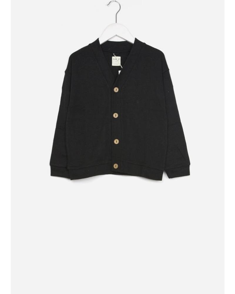 Play Up interlock jacket black v-hals