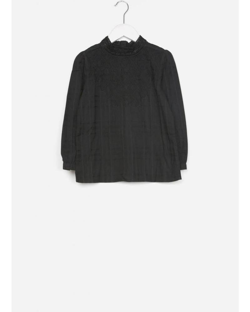 By Bar girls gaby blouse off black