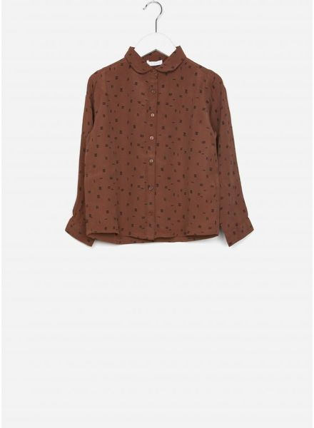 By Bar blouse sammie graphic print cognac