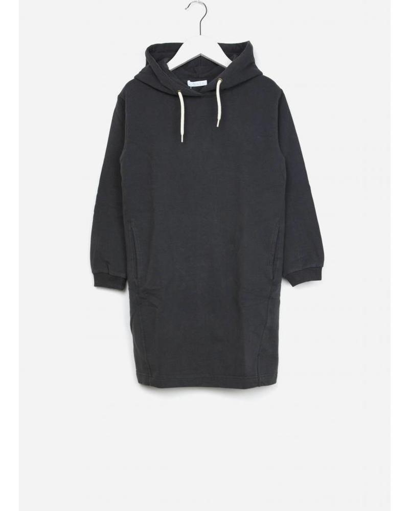 By Bar girls hooded dress solid