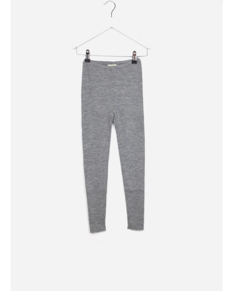 MarMar Copenhagen pippi light merino pants unisex grey melange
