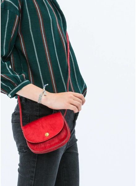 By Bar small bag red