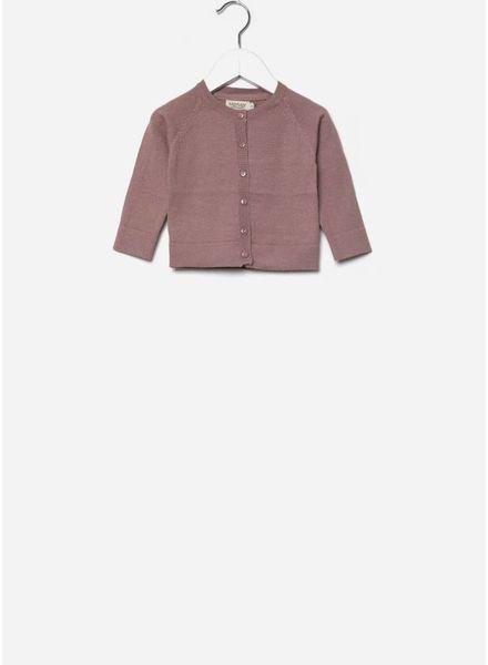 MarMar Copenhagen vestje totti cotton wool rose nut