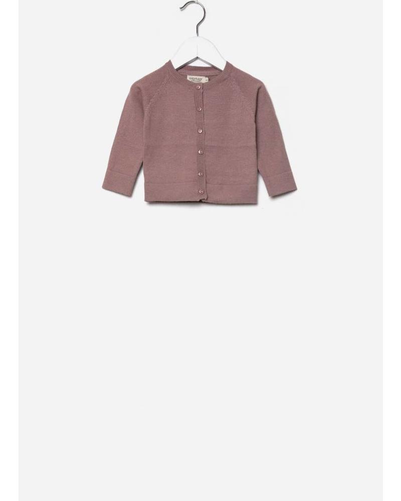 MarMar Copenhagen totti light cotton wool knitwear rose nut