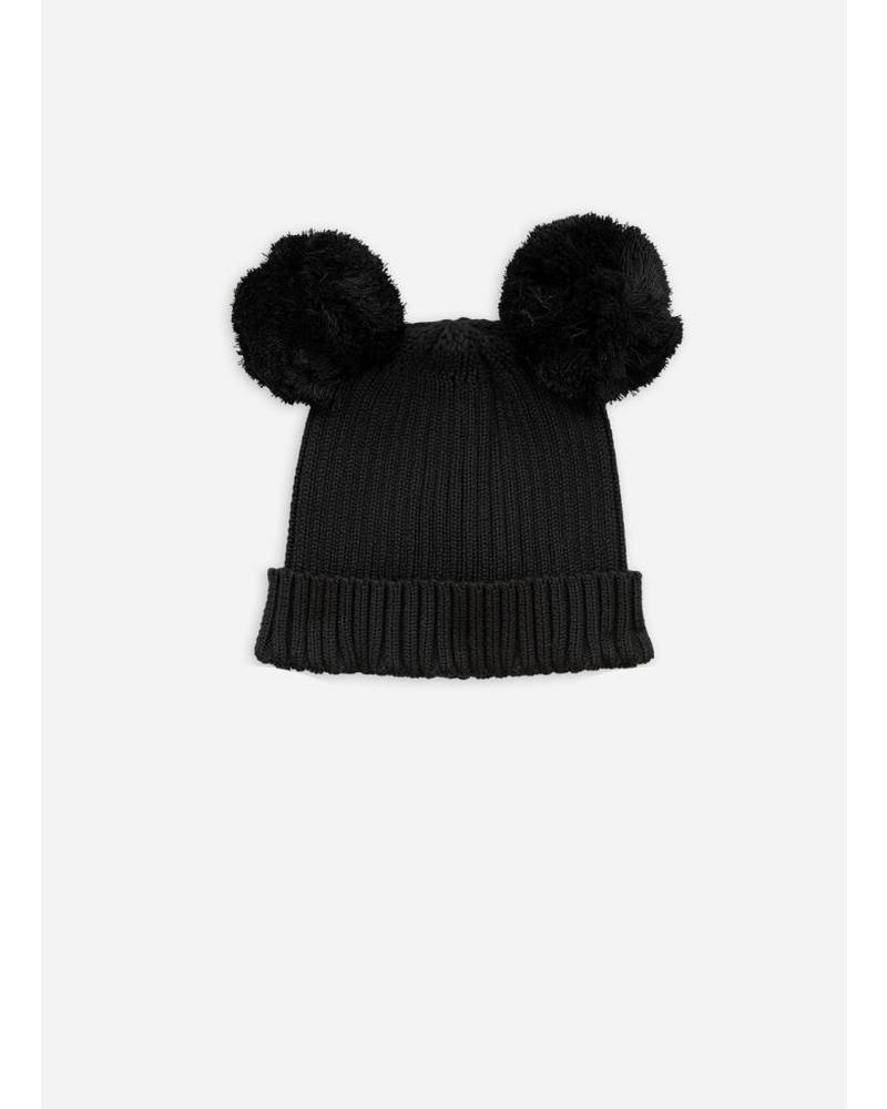 Mini Rodini ear hat black