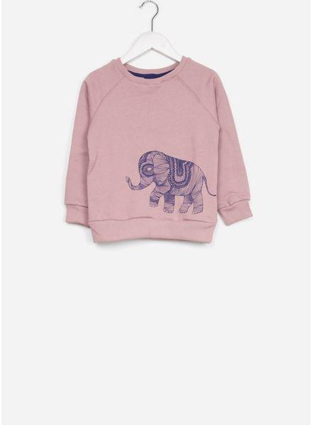 One we Like trui ag elephant mauve chalk