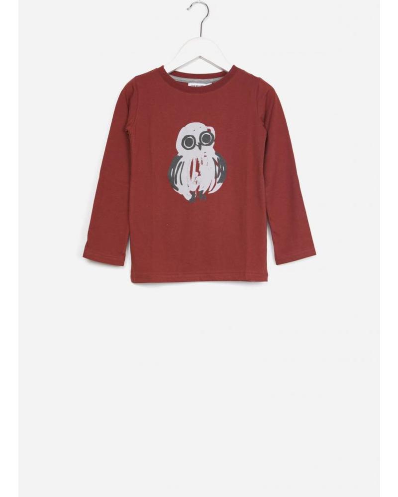 One we Like One Ls owl dark red
