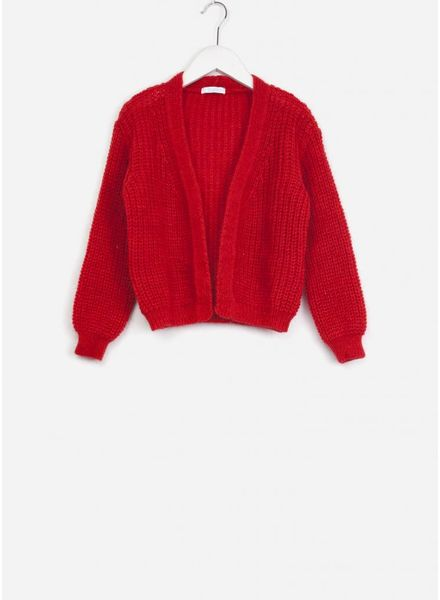 By Bar vest vera bright red