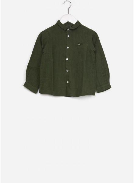 Bonton blouse couche vert scarabee