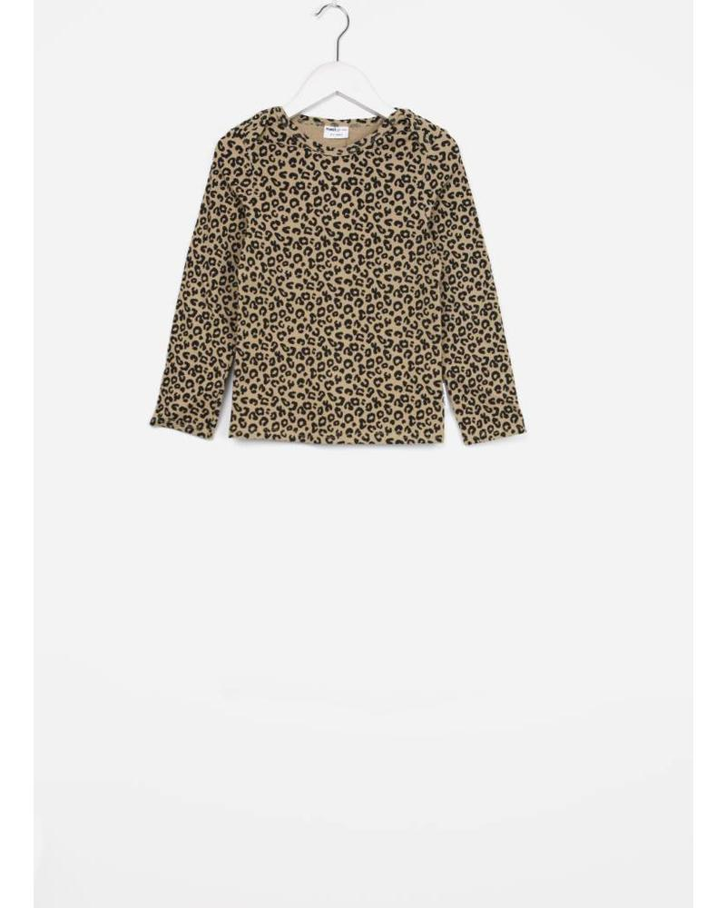 Maed for mini brown leopard ls shirt