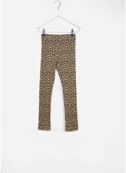 Maed for mini pants brown leopard