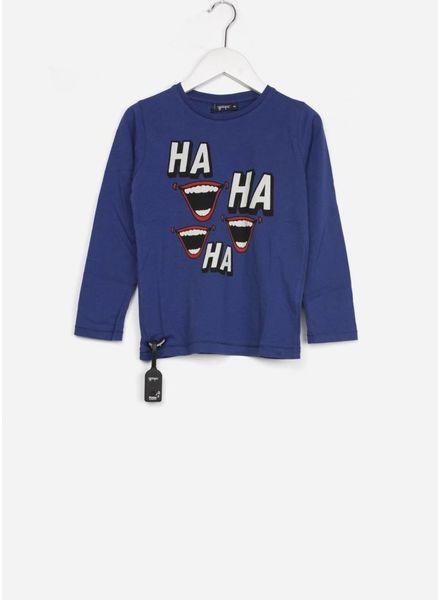 Yporque shirt laught  navy