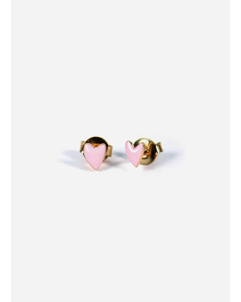 Titlee boucles grand rose
