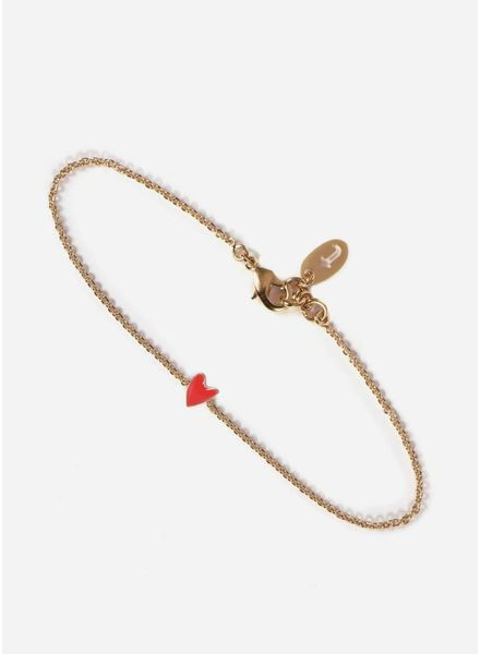 Titlee armband grant coquelicot