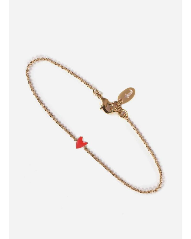 Titlee bracelet grant coquelicot