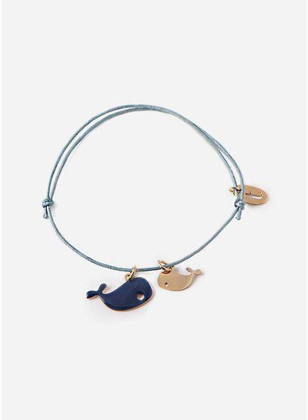 Titlee bracelet whale