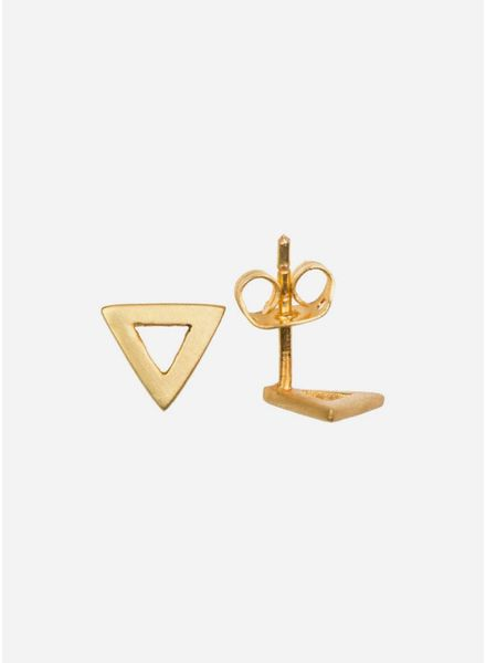 By Bar oorbel lana gold