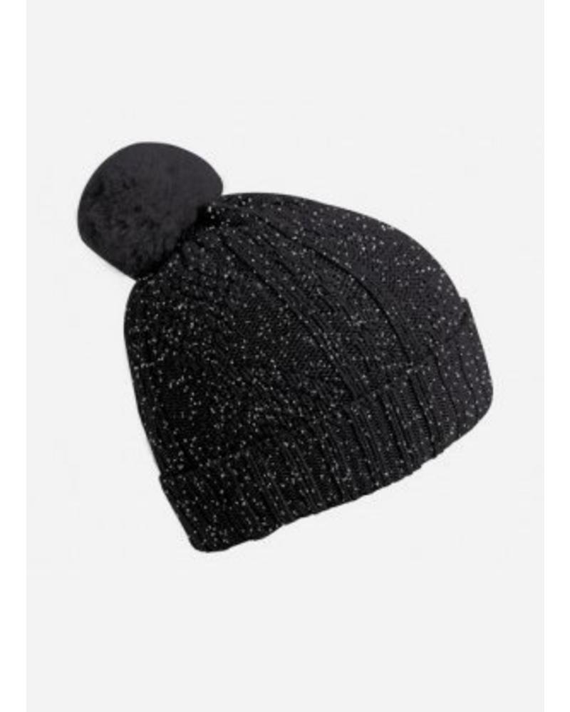 Collegien bonnet antraciet glitter