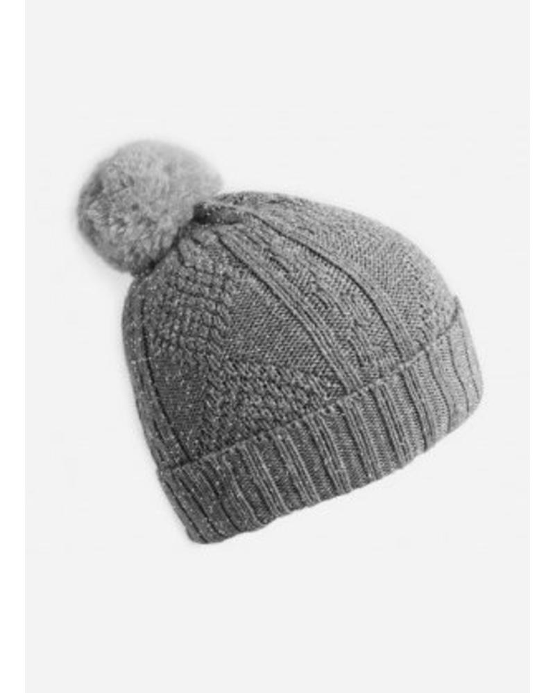 Collegien bonnet licht grijs