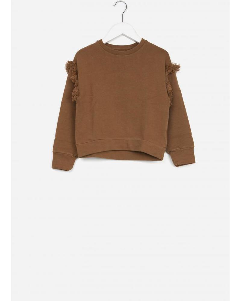Play Up fleece sweater ochre