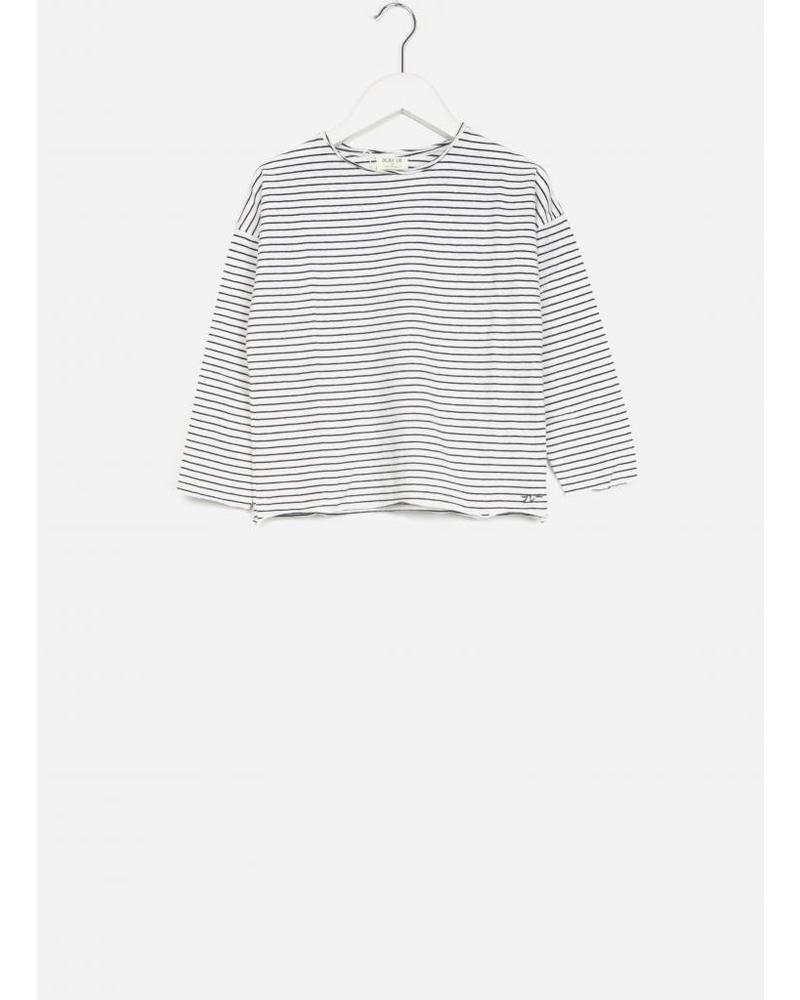 Play Up LS striped jersey t-shirt