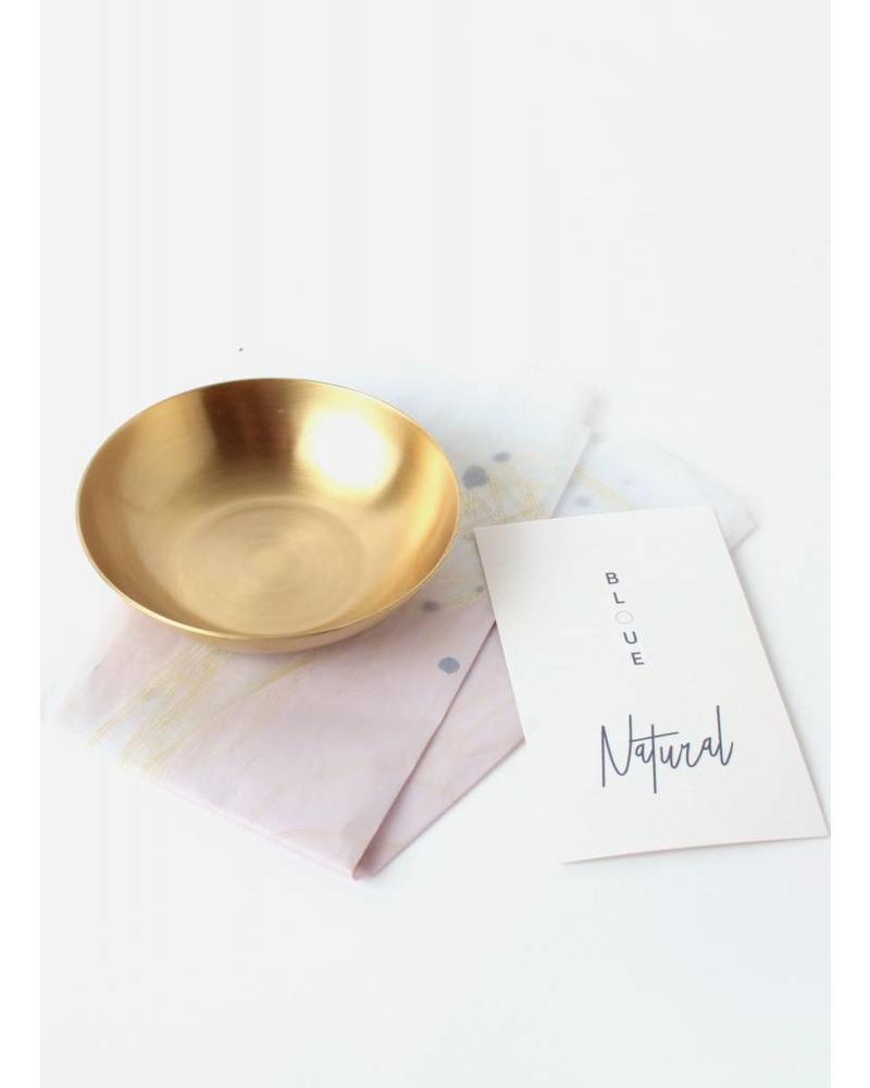 Bloue golden bowl
