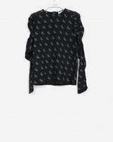 Les Coyotes De Paris anique blouse black