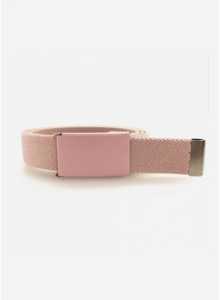 French King riem pastel roze