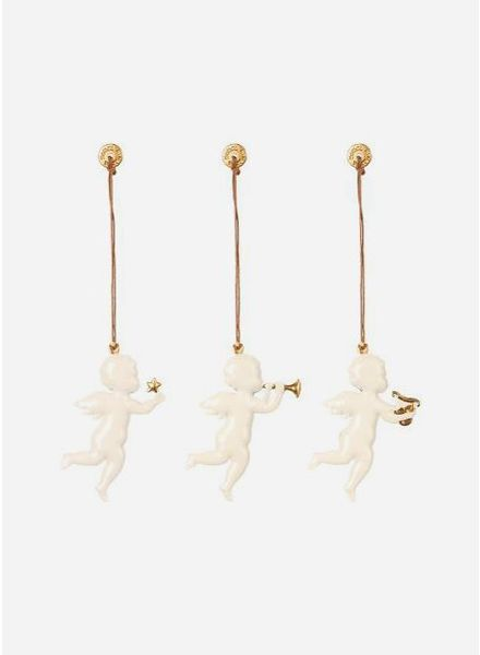 Maileg ornament angel metal 3ass